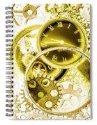 Clock Watches Spiral Notebook