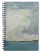 Cloud Above The Sea Spiral Notebook