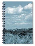 Cloud Dance Shadows Spiral Notebook