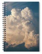 Cloud On Sky Spiral Notebook