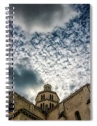 Cloud Or Two Spiral Notebook