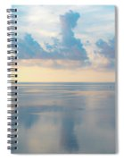 Cloud Reflections On Pamlico Sound Spiral Notebook