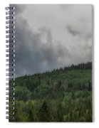 Cloud Topped Aspens Spiral Notebook