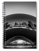 Cloudgate4 Spiral Notebook