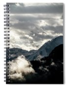 Clouds Above All Spiral Notebook