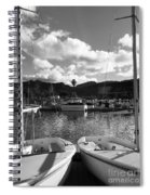 Clouds And Sailing  Spiral Notebook
