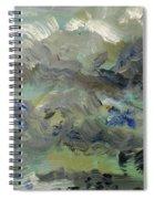 Clouds Before Rain In Summer Spiral Notebook
