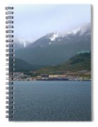 Cloudy Morning In Ushuaia, Argentina Spiral Notebook