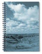 Cloudy Prairie Reverie Spiral Notebook