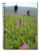 Clover Field Spiral Notebook