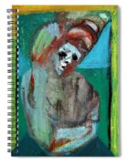 Clown At A Table Spiral Notebook