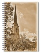 Clustered Spires Series - All Saints Episcopal Church No. 8cs - Frederick Maryland Spiral Notebook