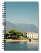 Coast Of Como Spiral Notebook
