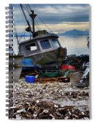 Coastal Fishing Vancouver Island Spiral Notebook
