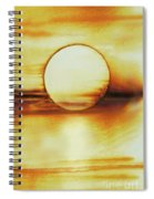 Coastal Moon Glow Spiral Notebook