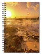 Coastal Sunrise Spectacular  Spiral Notebook