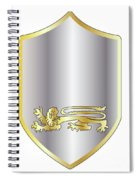 Coat Of Arms Spiral Notebook