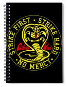 Cobra Kai Spiral Notebook