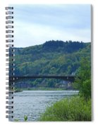 Cochem Castle And River Mosel In Germany Spiral Notebook