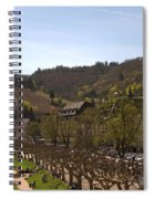 Cochem Castle And Town On Mosel In Germany Spiral Notebook