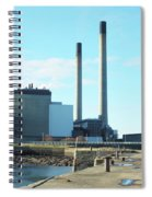Cockenzie Power Station Spiral Notebook
