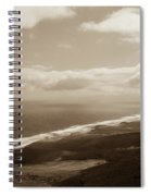 Cofete Beach Spiral Notebook
