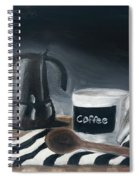 Coffee Time Spiral Notebook