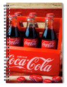 Coke And American Flag Spiral Notebook
