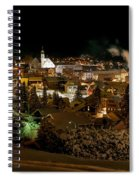Cold Winter Night Spiral Notebook