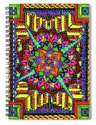 Colin's Mandala Spiral Notebook