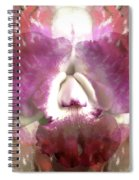 Color Hybrid Orchid Spiral Notebook
