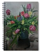 Color Of Natureoil Spiral Notebook