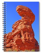 Colorado Arches Spire Scrub Dinosaur Rock? Scrub Blue Sky 3325 Spiral Notebook
