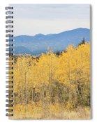Colorado Autumn In The Mountains Spiral Notebook