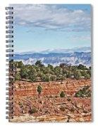 Colorado Blue Sky Red Rocks Clouds Trees 2 10212018 2857 Colorado  Spiral Notebook