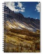 Colorado Mountains Spiral Notebook