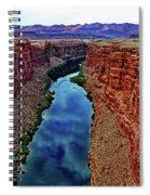 Colorado River From The Navajo Bridge 001 Spiral Notebook