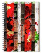 Colored Windows Spiral Notebook