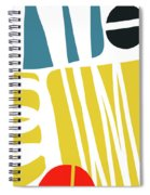 Colorful Bento 1- Art By Linda Woods Spiral Notebook