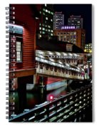 Colorful Boston Museum Spiral Notebook