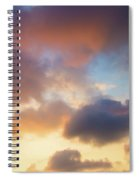 Colorful Clouds Spiral Notebook