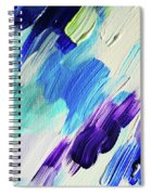 Colorful Rain Fragment 1. Abstract Painting Spiral Notebook
