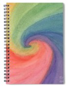 Colorful Wave Spiral Notebook