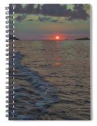 Colors Of The Sunrise Spiral Notebook