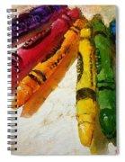 Colorwheel Crayons Spiral Notebook