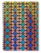 Coloured Glass Window Spiral Notebook