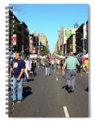Columbus Day On Amsterdam Ave. Upper West Side, New York 2008 Spiral Notebook