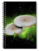 Combination Space Spiral Notebook