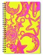Comic Constellation Spiral Notebook