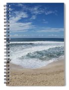 Coming Ashore Spiral Notebook